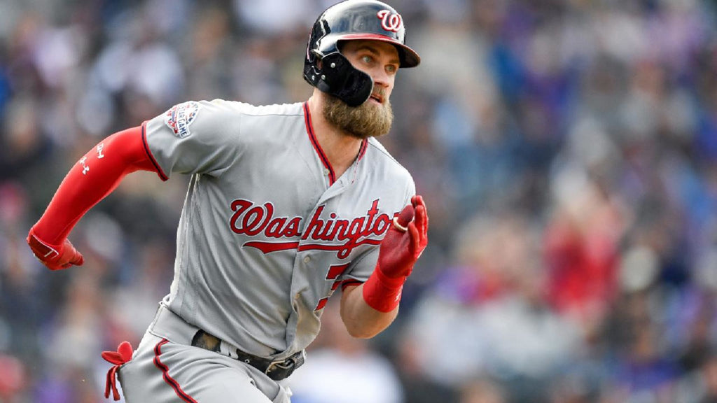 Bryce Harper has the most robust of the major league baseball beards