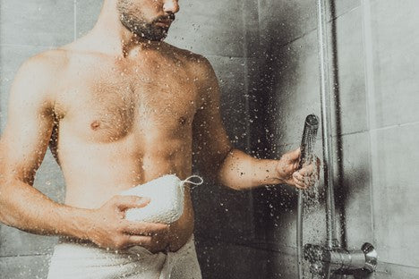 Avoiding overly hot water can minimize damage to your facial hair