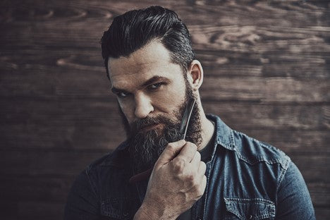 Bearded man that knows how to grow a beard