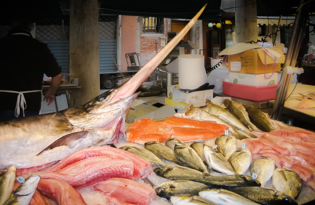 Seafood high in mercury can jeopardize your beard growth