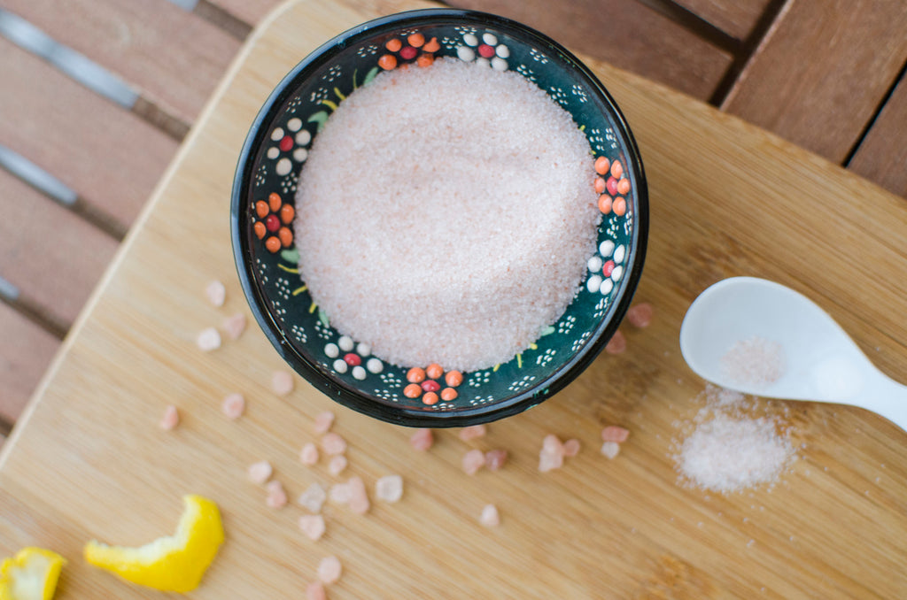 Salt acts to dehydrate your body and is discouraged for strong beard growth