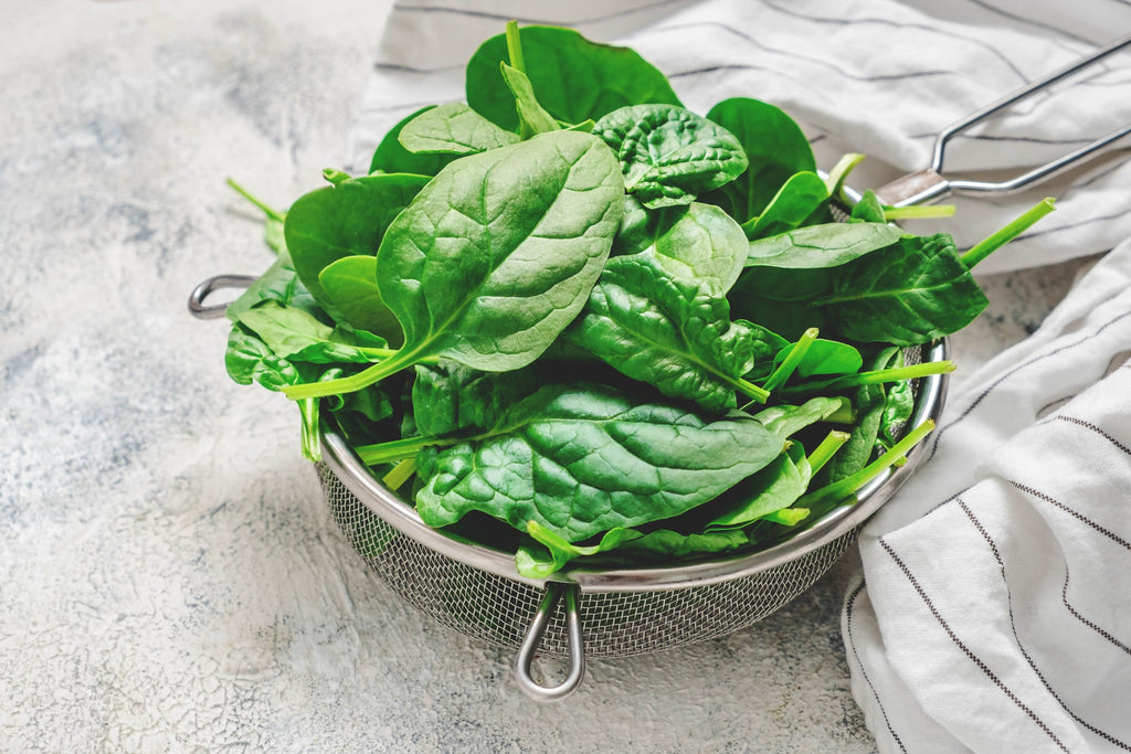 Spinach is packed with iron which beards love