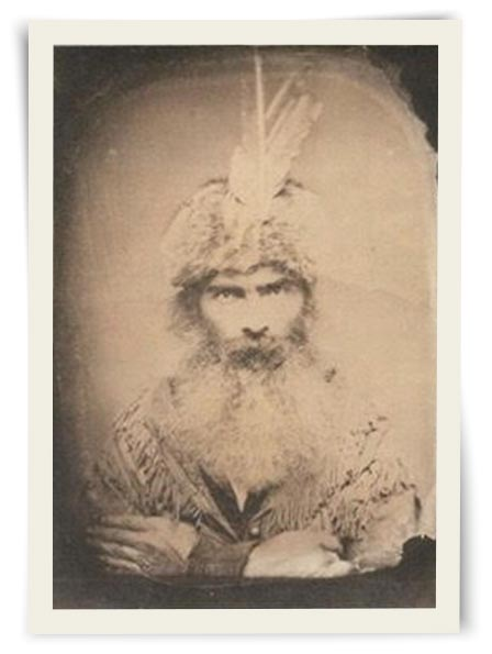 Historical photo of Grizzly Adams beard