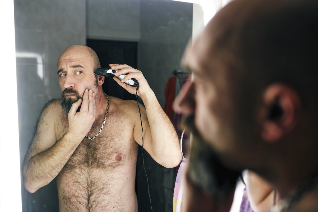 Shea butter in beards can help prevent hair loss