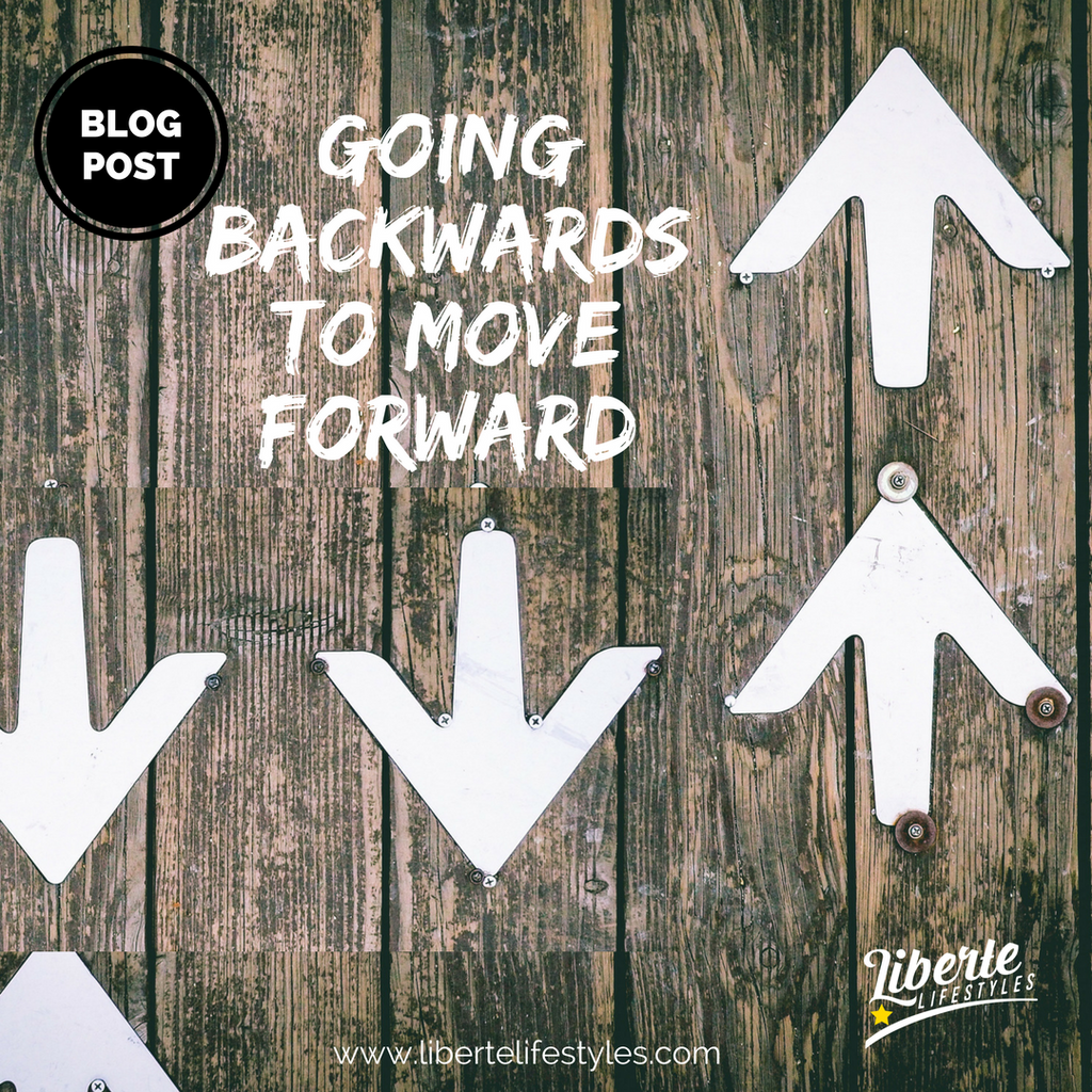 Going Backwards to Move Forward