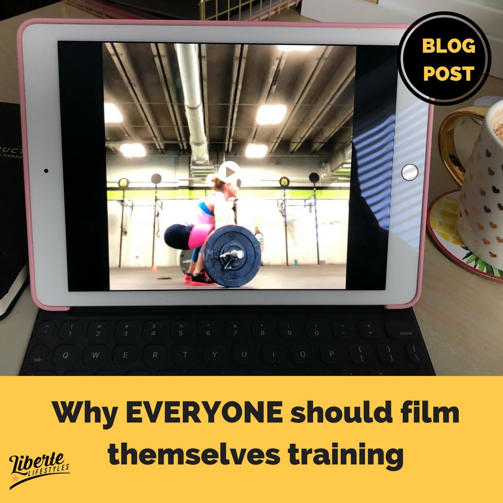 Why EVERYONE should film themselves training