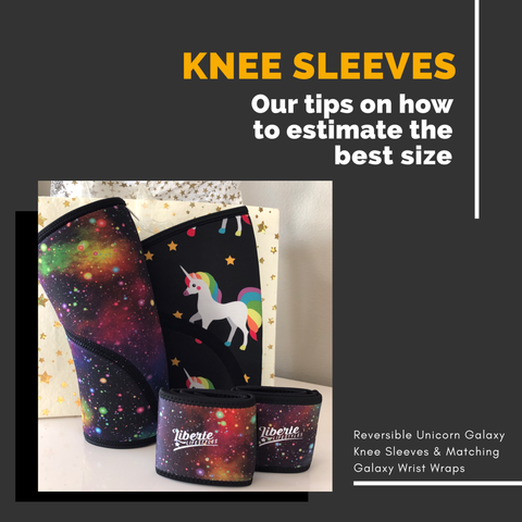 Liberte Lifestyles Knee S;eeve Sizing for Others Gifts