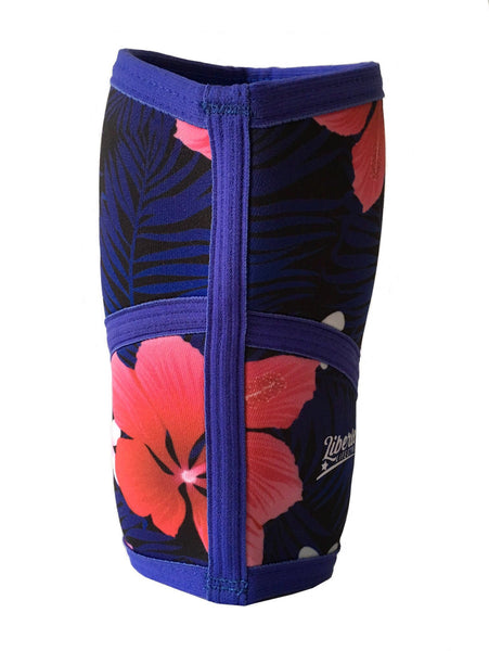 Liberte Lifestyles Knee Sleeves Aloha Floral Print Back