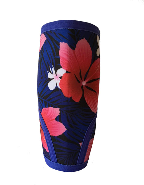 Liberte Lifestyles Knee Sleeves Aloha Floral Print Front