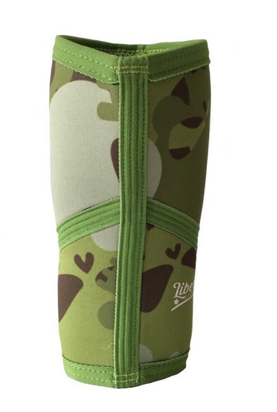 Liberte Lifestyles Knee Sleeves Skull Camo Print Back