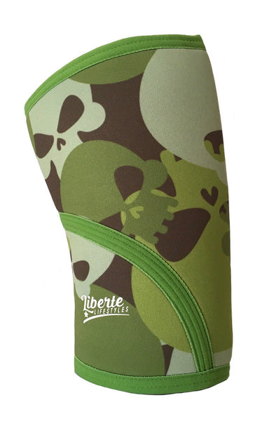 Liberte Lifestyles Knee Sleeves Skull Camo Side