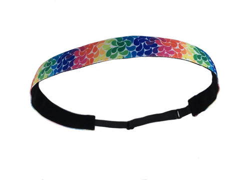 Liberte Lifestyles NonSlip Headband Rainbow Sprinkles