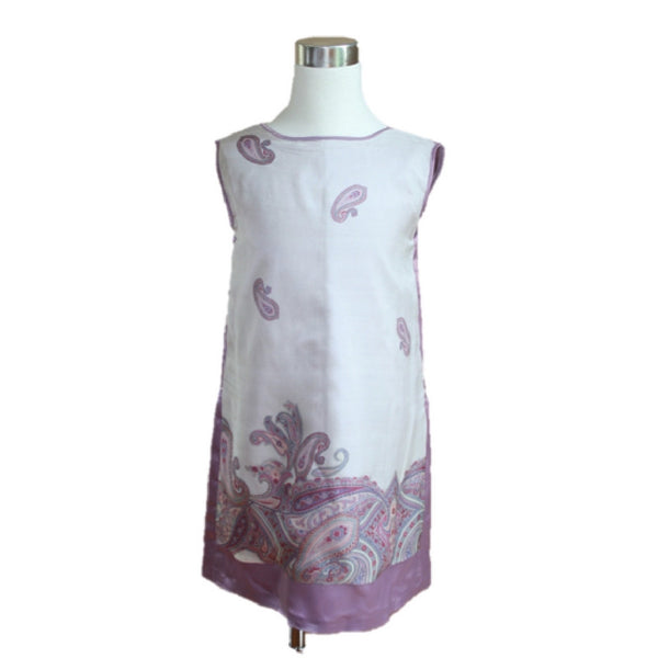 Liana Dress - Sea Glass and Purple