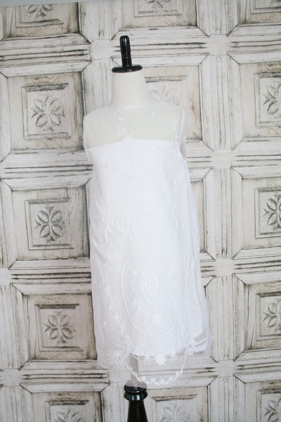 White French Lace Dress