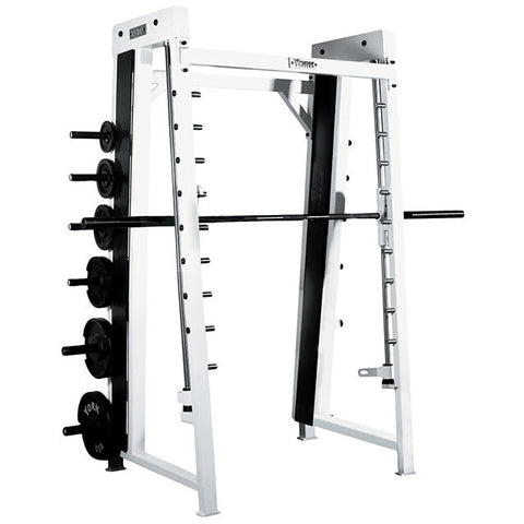 York Barbell Counter Balanced Smith Machine - White