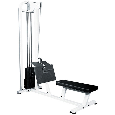 York Barbell Low Row - White - Strength Fitness Outlet