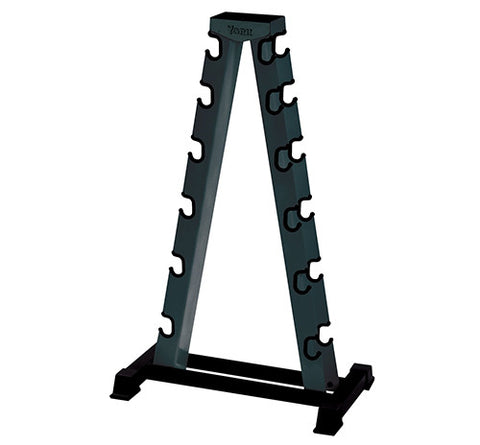 York Barbell 2-Sided A-Frame Dumbbell Rack - Strength Fitness Outlet