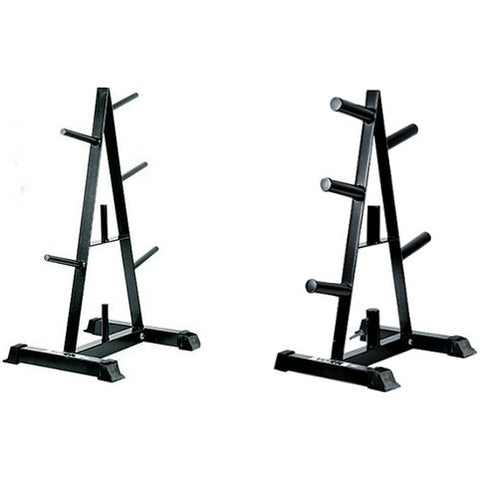 York Barbell A-Frame Plate Trees - Strength Fitness Outlet