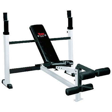 York Barbell FTS Olympic Combo Bench with Leg Developer - Strength Fitness Outlet