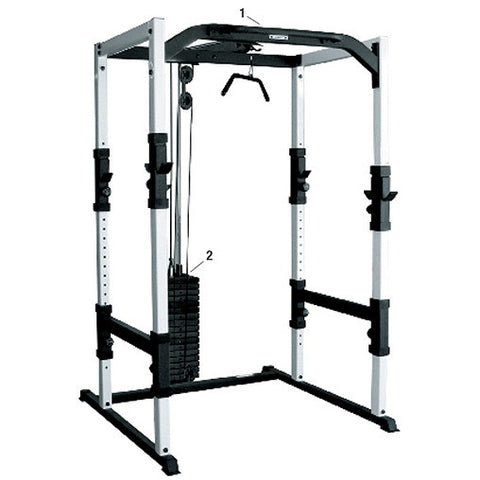 York Barbell FTS Power Cage - Strength Fitness Outlet