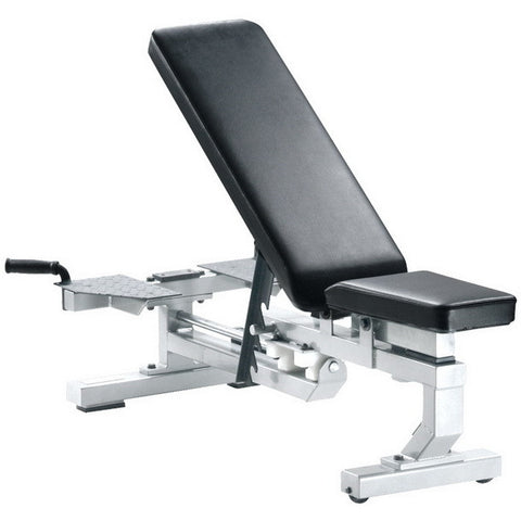York Barbell Multi-Function Bench - White - Strength Fitness Outlet