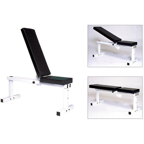 York Barbell Pro Series 205 Flat/Adjustable Incline Bench - Strength Fitness Outlet