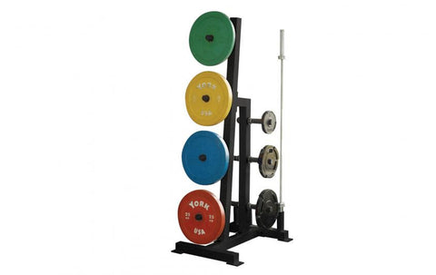 York Barbell Single-Sided Weight Tree - Strength Fitness Outlet