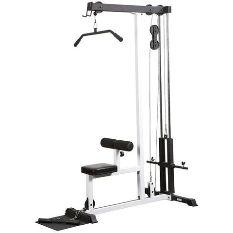 York Barbell FTS Lat Machine - Strength Fitness Outlet