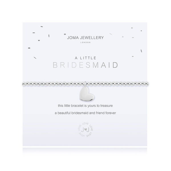 Joma Jewellery 'A Little Bridesmaid' Bracelet (Bridesmaid Gift)