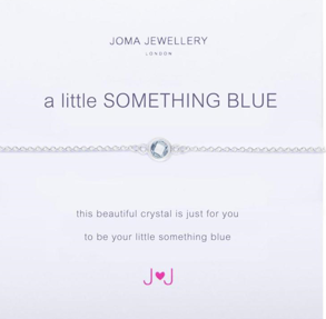 Joma Jewellery 'A little SOMETHING BLUE' Bracelet (Gift for Bride)