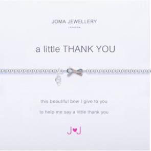 Joma Jewellery 'A little THANK YOU' Bracelet (Bridesmaid Gift)