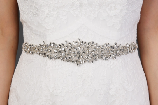 Beaded Crystal Reversable Belt