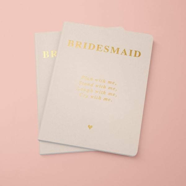 Maid of Honour Notebook