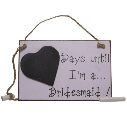 'Days Until I'm a Bridesmaid' Bridesmaid Gift