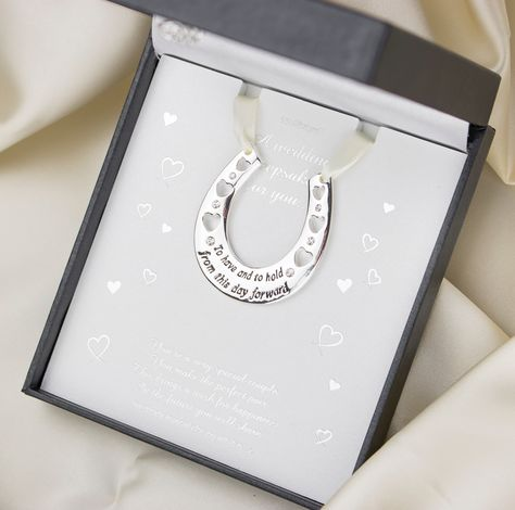 Wedding Horseshoe Keepsake