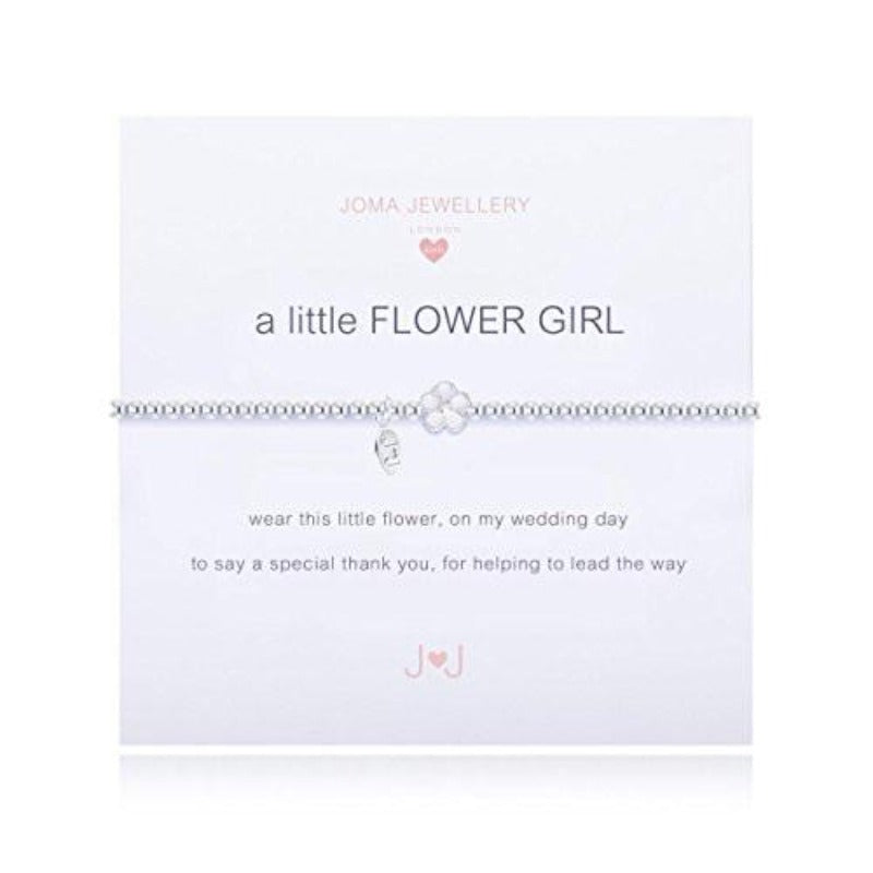 A Little Flower Girl Bracelet (Flower Girl Gift)