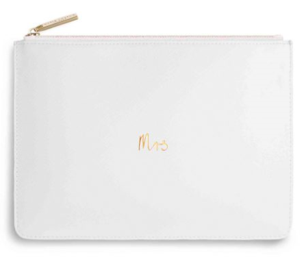 Katie Loxton 'Mrs' Bridal Clutch