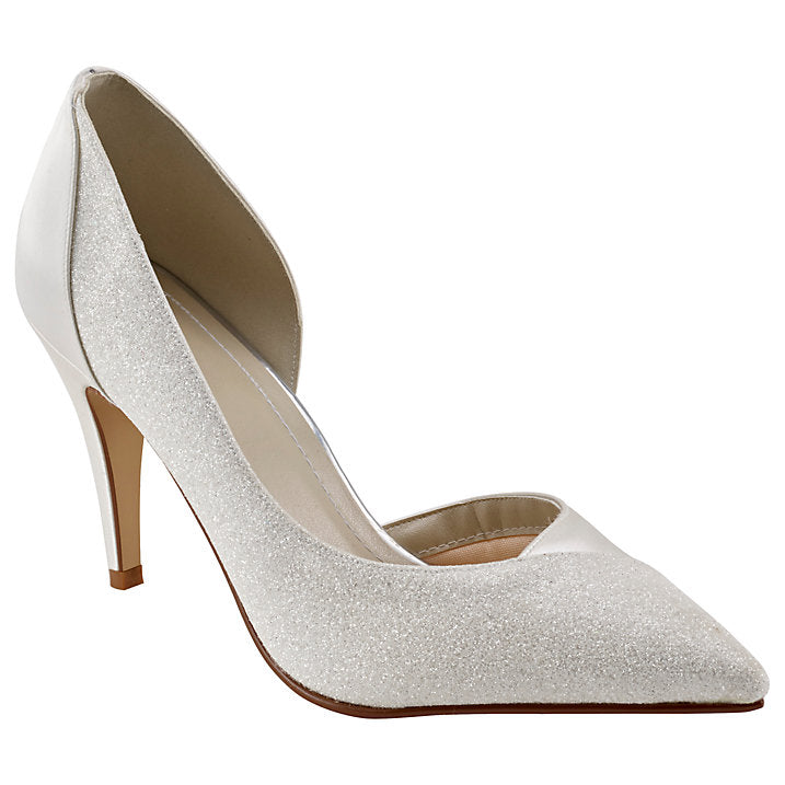 Rainbow Club 'Roux' Court Shoe, Ivory