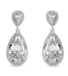 Abbie Bridal Earrings