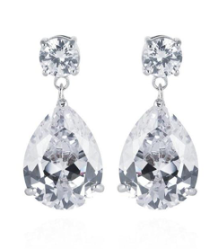 Eternity Simulated Diamond Earrings