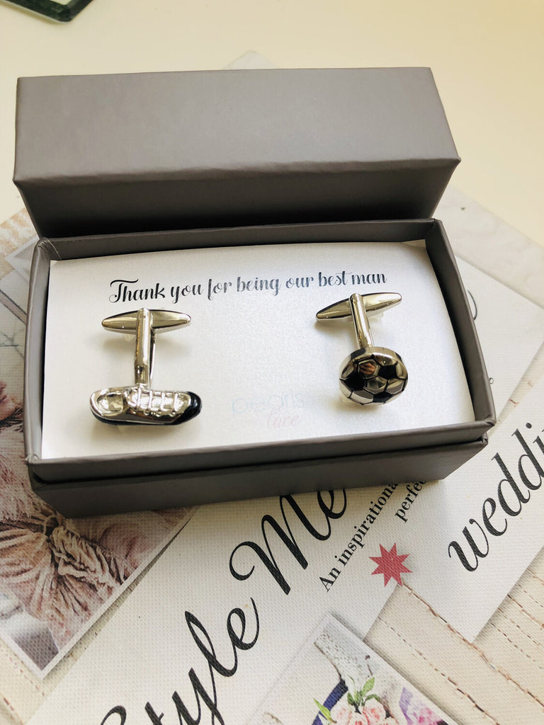 Football & Boot Cufflinks