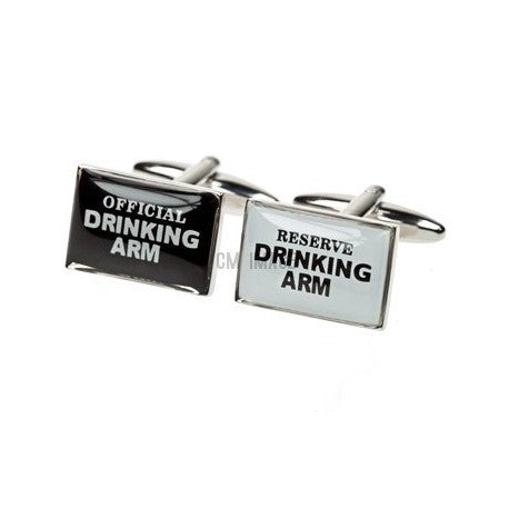 Drinking Arm and Reserved Arm - Cufflinks