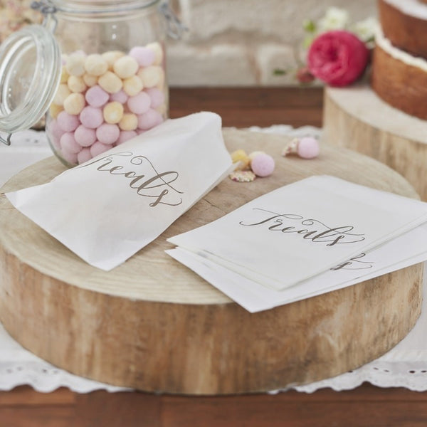 Paper Treat Candy Bags - Boho