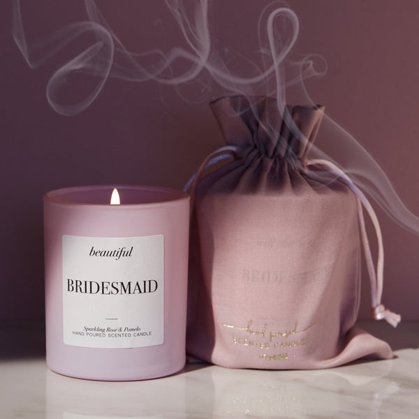 Bridesmaid Candle | THANK YOU