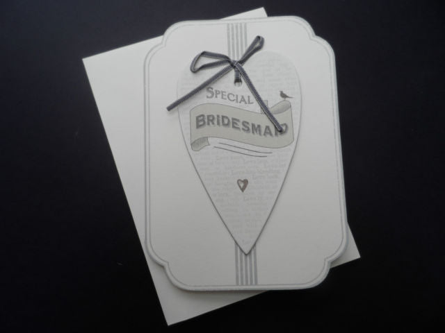 Special Bridesmaid Card