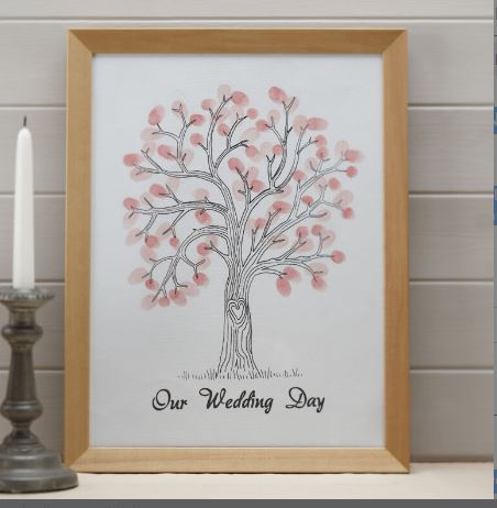 Fingerprint Tree - Guestbook Alternative