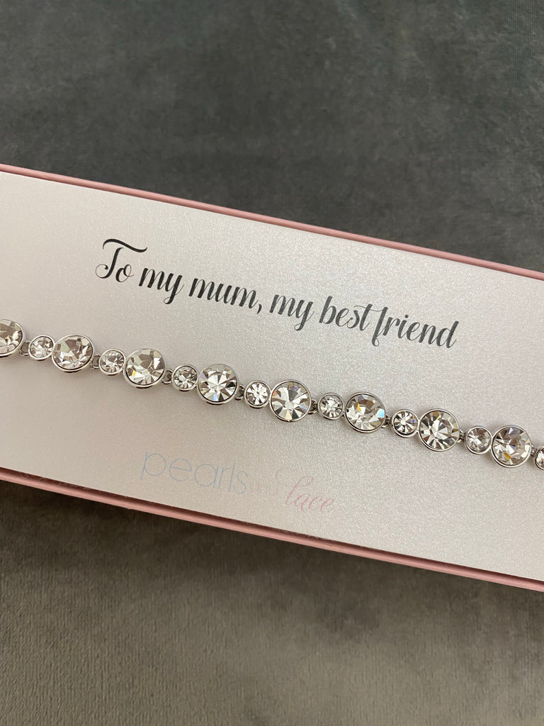 Mother of the bride/ groom bracelet