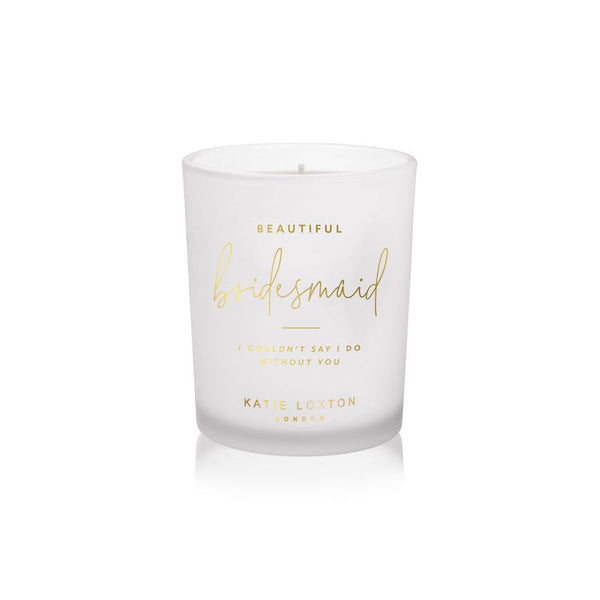 Katie Loxton Beautiful Bridesmaid Candle