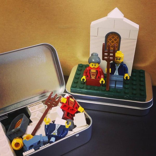 Gothic Americans - a Brick Play Set