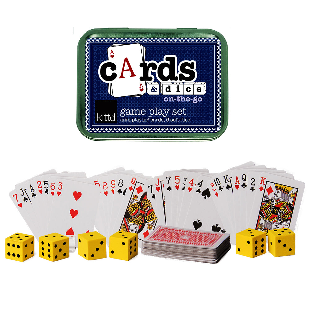 Cards & Dice On-the-Go Travel Game Playset
